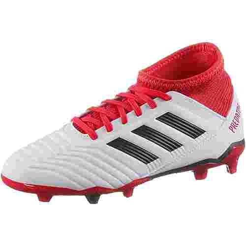 adidas PREDATOR 18.3 FG J Fußballschuhe Kinder ftwr white