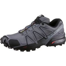 Salomon SPEEDCROSS 4 Laufschuhe Herren darkcloud-black-pgrey