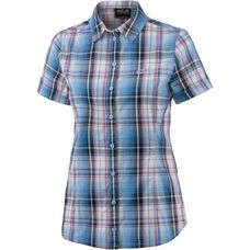 Jack Wolfskin Maroni Funktionsbluse Damen night blue checks