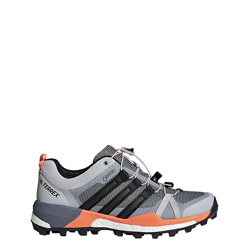 adidasTERREX Skychaser GTX Mountain Running SchuheDamen Grey Two Core  Black HiRes Orange bdc8da78ad