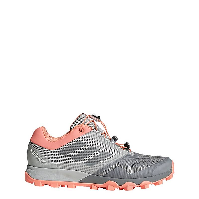 huge discount 2d086 5055f adidasTERREX Trail Maker Mountain Running SchuheDamen Grey Three Grey  Three Chalk Coral