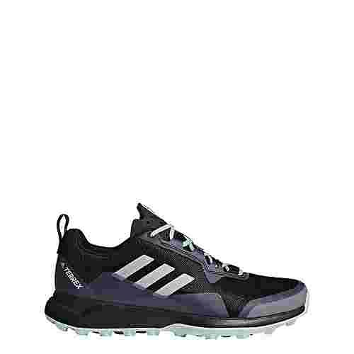 adidas TERREX CMTK Mountain Running Schuhe Damen Core Black/Chalk White/Ash Green