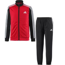 adidas Trainingsanzug Kinder vivid-red