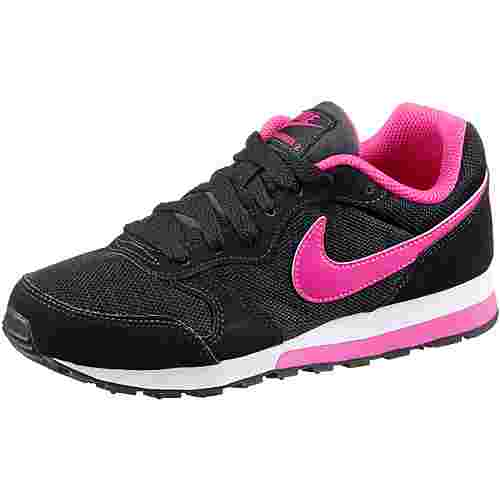 Nike MD Runner Sneaker Kinder black-vivid-pink