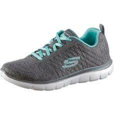 Skechers FLEX APPEAL 2.0 Sneaker Damen grey-light blue