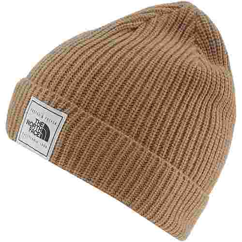 The North Face Pepper Dog Beanie Herren cargo khaki-kelp tan