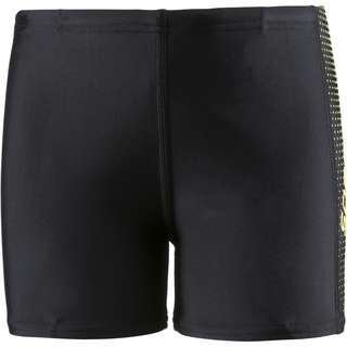 SPEEDO Gala Logo Panel Kastenbadehose Kinder black-citron