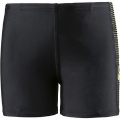 SPEEDO Gala Logo Panel Badehose Kinder black-citron