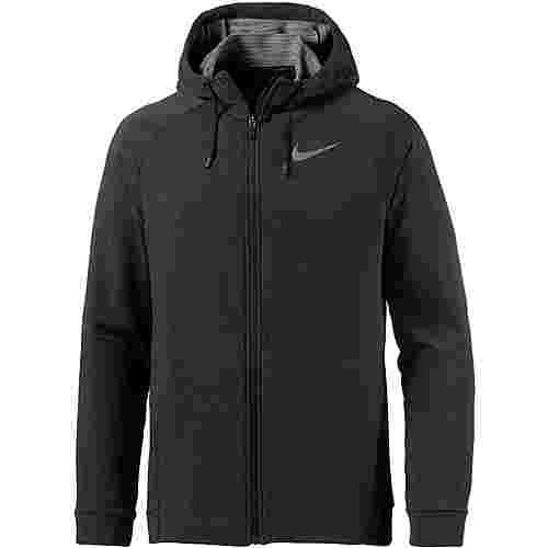 Nike Dry Trainingsjacke Herren black-black-white-mtlc-hematite