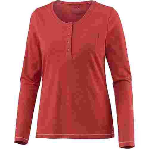 Jack Wolfskin Essential Funktionsshirt Damen volcano red