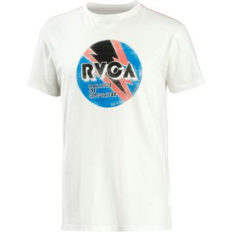 RVCA volt T-Shirt Herren antique white