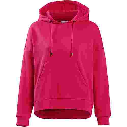 Only Hoodie Damen rose-red