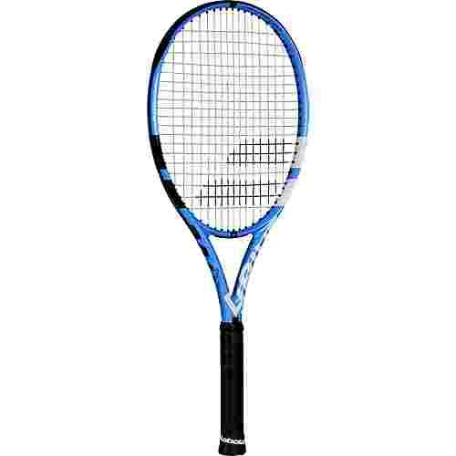 Babolat PURE DRIVE 110 STRUNG NC Tennisschläger black blue