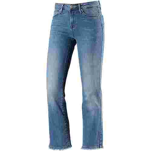 Only Straight Fit Jeans Damen light-blue-denim