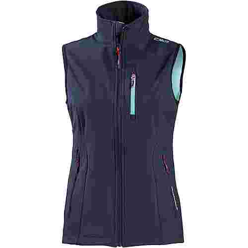 CMP Softshell Weste Damen b.blue