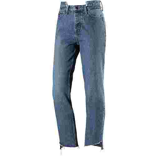 Tommy Jeans Skinny Fit Jeans Damen TOMMY JEANS MID BLUE RIGID