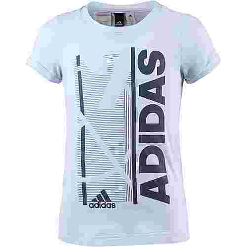 adidas T-Shirt Kinder aero-blue
