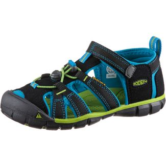 Keen Seacamp Outdoorsandalen Kinder black-blue danube