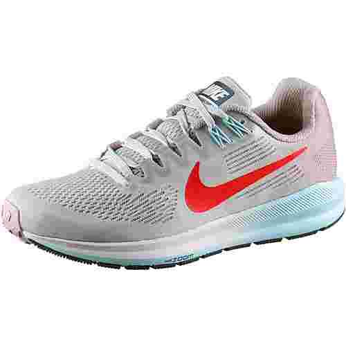 Nike AIR ZOOM STRUCTURE 21 Laufschuhe Damen vast-grey-habanero-red-element