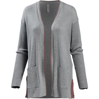 RVCA lesson Strickmantel Damen heather grey