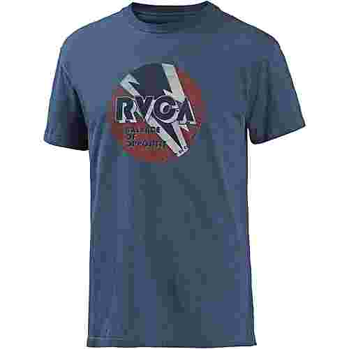 RVCA volt T-Shirt Herren dark denim