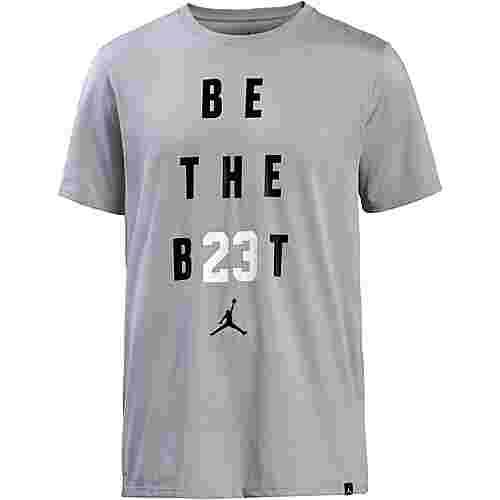 Nike T-Shirt Herren wolf grey