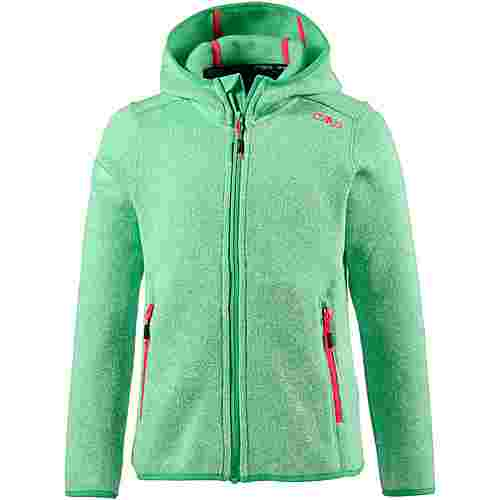 CMP Strickfleece Kinder green tea