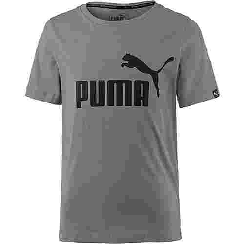 PUMA T-Shirt Kinder castor gray