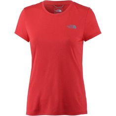The North Face Reaxion Amp Crew Funktionsshirt Damen juicy red heather