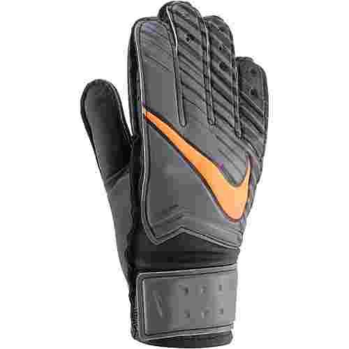 Nike Torwarthandschuhe Kinder dark grey-black-total orange