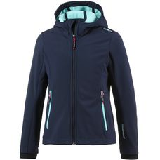 CMP Softshelljacke Kinder b.blue