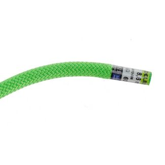 EDELRID Canary Pro Dry 8,6mm Kletterseil neon green