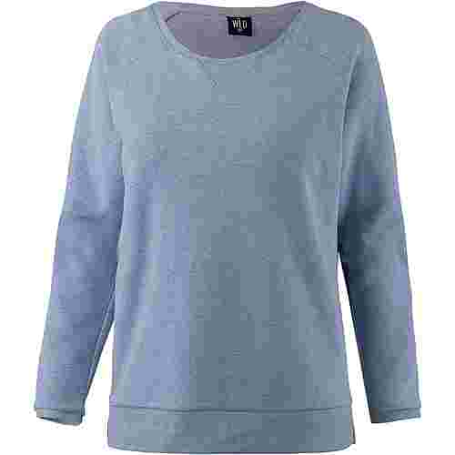 WLD STAY FOR A WHILE Sweatshirt Damen BLUE