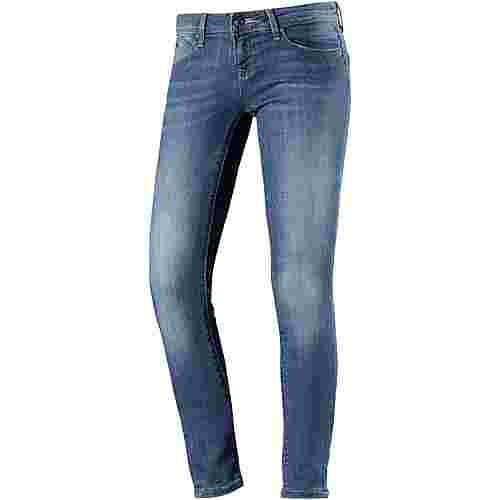 Only Skinny Fit Jeans Damen medium-blue-denim
