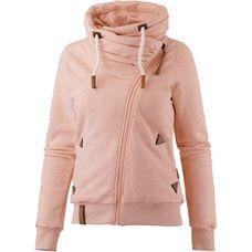 Naketano JEDI PATH Sweatjacke Damen pastel-pink-melange