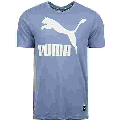 PUMA Archive Logo T-Shirt Herren hellblau