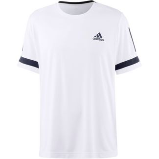 adidas CLUB 3STR TEE Tennisshirt Herren white