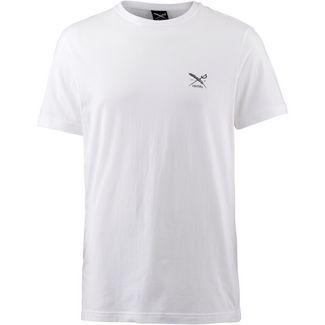 iriedaily Chestflag T-Shirt Herren white