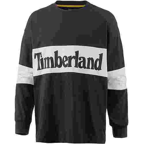 TIMBERLAND Langarmshirt Herren black