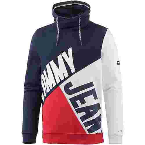Tommy Jeans Hoodie Herren racing red-multi