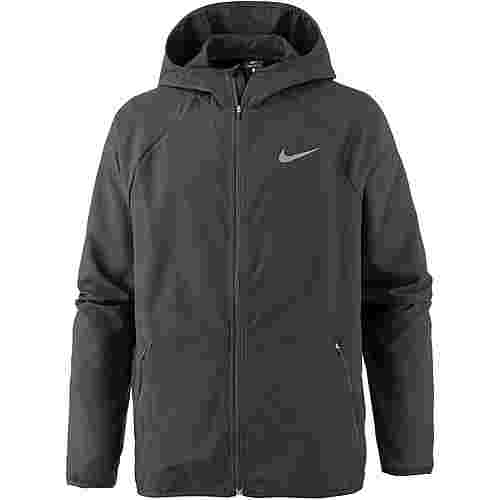 Nike Flex Trainingsjacke Herren black-mtlc-hematite