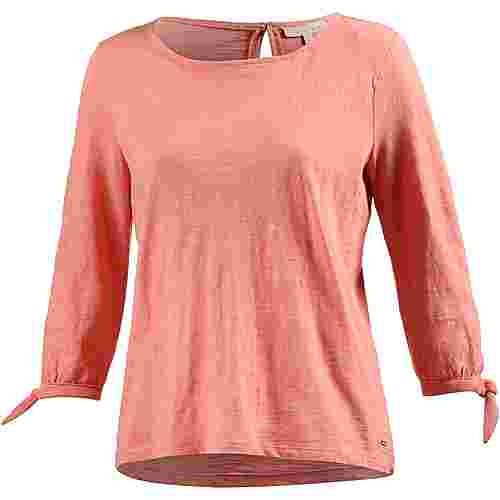 TOM TAILOR T-Shirt Damen peach-bisque