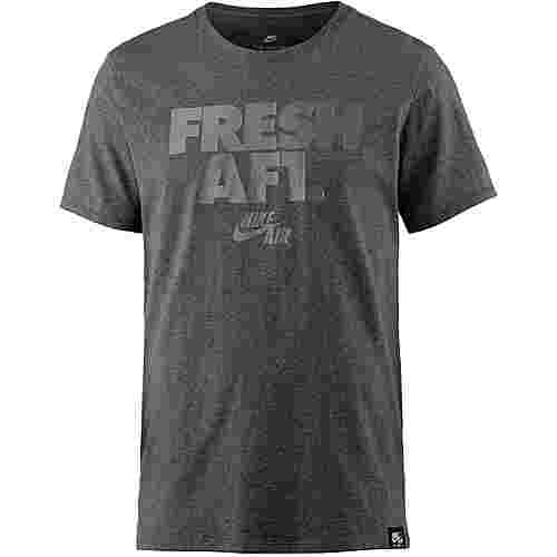Nike T-Shirt Herren charcoal heather