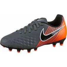 Nike JR MAGISTA OBRA 2 CLUB FG Fußballschuhe Kinder dk grey/black-total orange-white