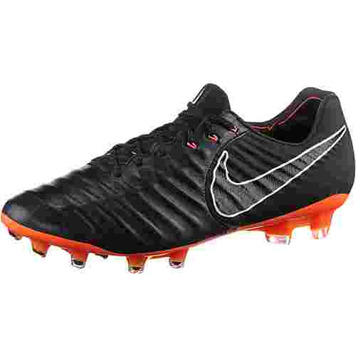 Nike TIEMPO LEGEND 7 ELITE FG Fußballschuhe Herren black/total orange-black-white