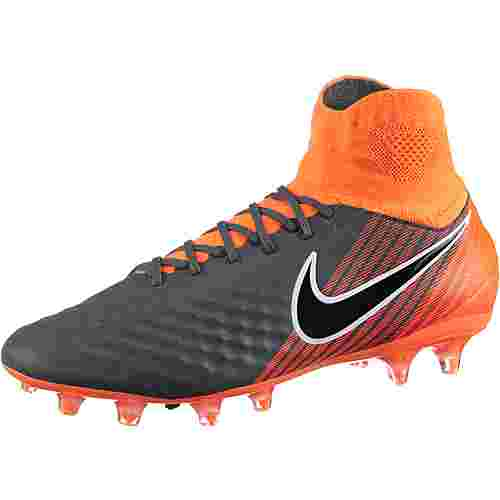 Nike MAGISTA OBRA 2 PRO DF FG Fußballschuhe Herren dk grey/black-total orange-white