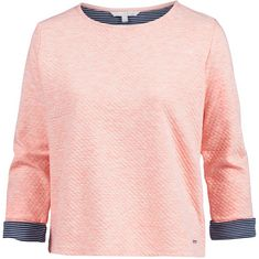 TOM TAILOR Sweatshirt Damen cosy-cloud-rose-melange