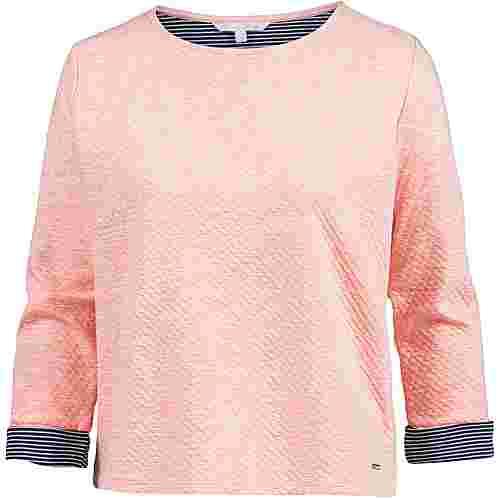 TOM TAILOR Sweatshirt Damen cosy-cloud-rose-melange