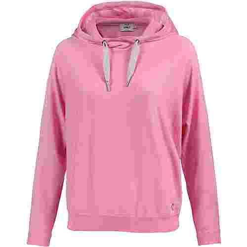Only Hoodie Damen begonia-pink