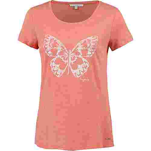 TOM TAILOR T-Shirt Damen peach-bisque